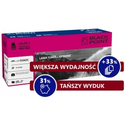 HP 205A / CF533A MAGENTA toner BLACK POINT zamiennik do HP Color LaserJet Pro MFP M180n, Color LaserJet Pro MFP M181fw